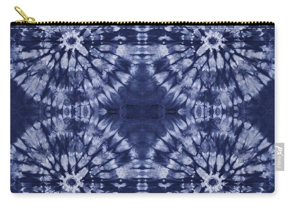 Shibori 8 Carry-all Pouch