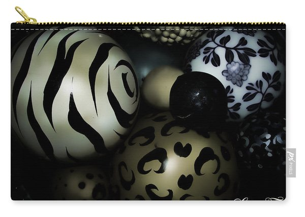 Shimmery Spheres Carry-all Pouch