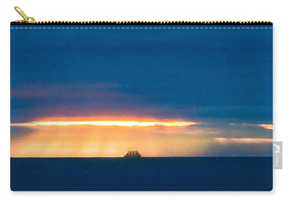 Ship On The Horizon Carry-all Pouch