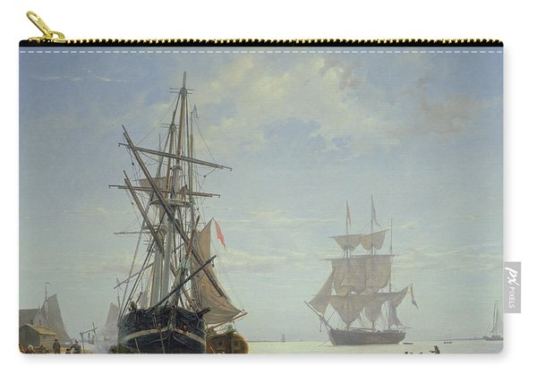 Ships In A Dutch Estuary Carry-all Pouch
