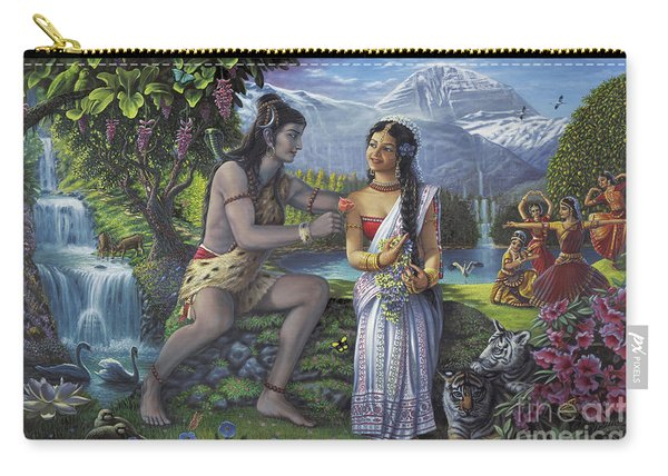 Shiva And Parvati Carry-all Pouch