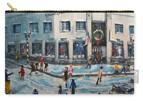 Shopping At Grover Cronin Carry-all Pouch