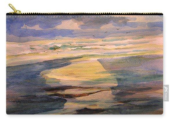 Shoreline Sunrise 11-9-14 Carry-all Pouch