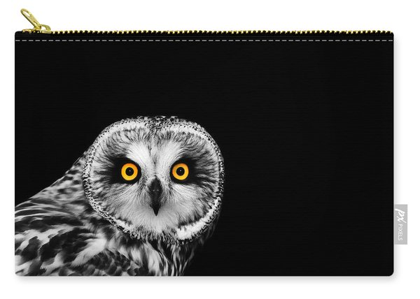Short-eared Owl Carry-all Pouch