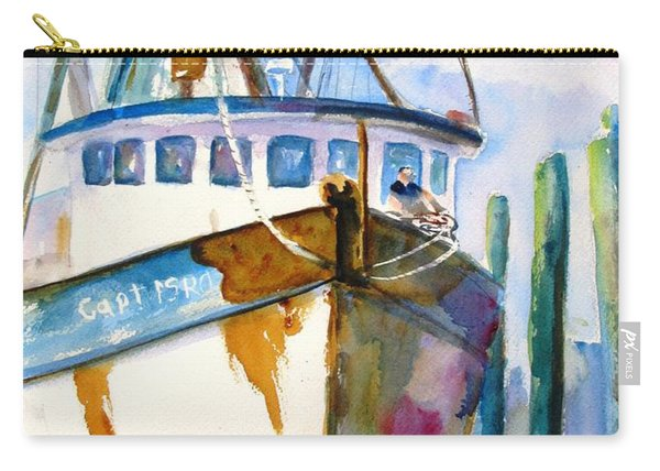 Shrimp Boat Isra Carry-all Pouch