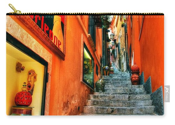 Sicilian Steps Carry-all Pouch