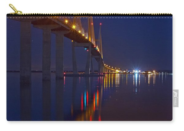 Sidney Lanier At Night Carry-all Pouch