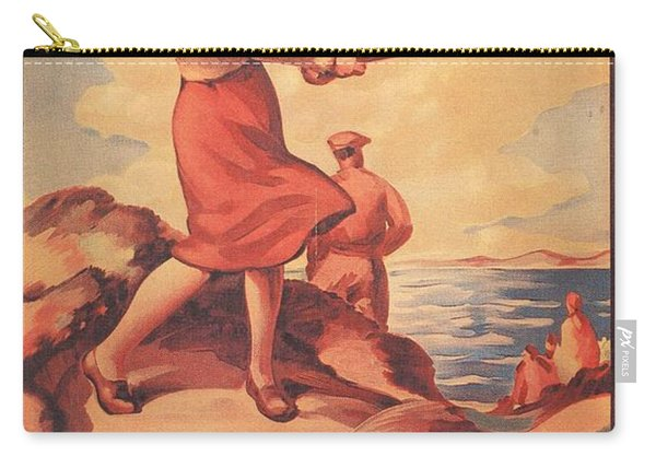 Silloth On The Solway, Advertisement Carry-all Pouch