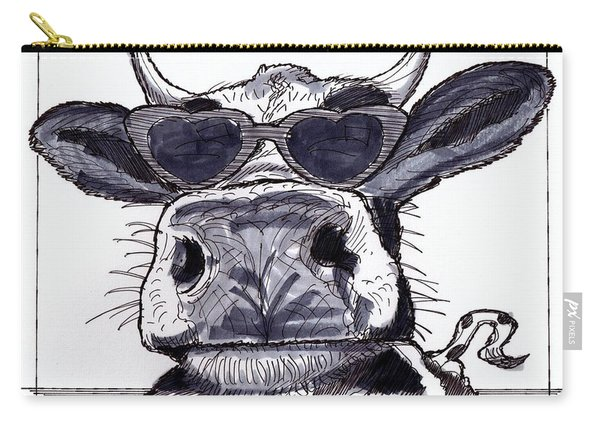 Silly Cow From Vermont Carry-all Pouch