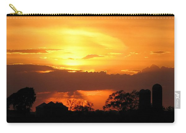 Silo Sunset Carry-all Pouch
