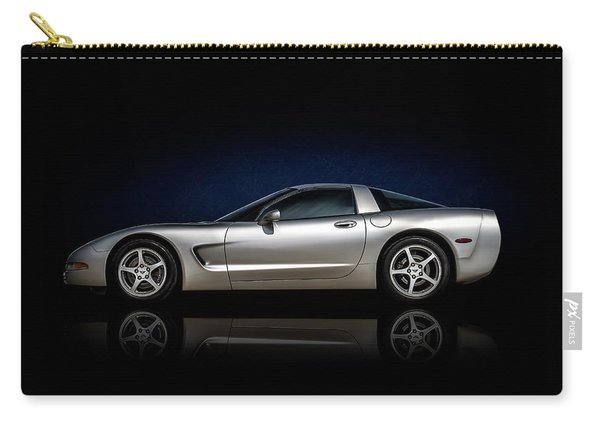 Silver C5 Carry-all Pouch