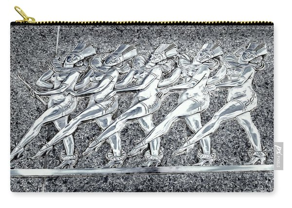 Silver Rockettes Carry-all Pouch