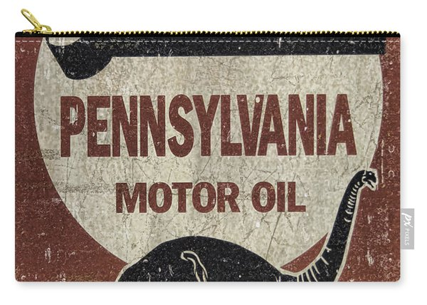 Sinclair Motor Oil Can Carry-all Pouch