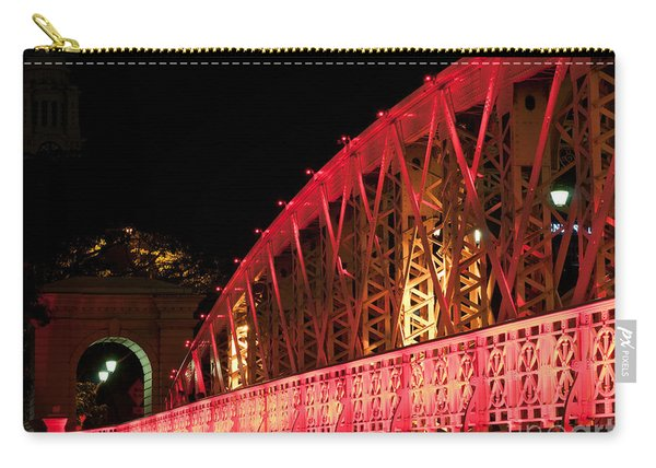 Singapore Anderson Bridge At Night Carry-all Pouch