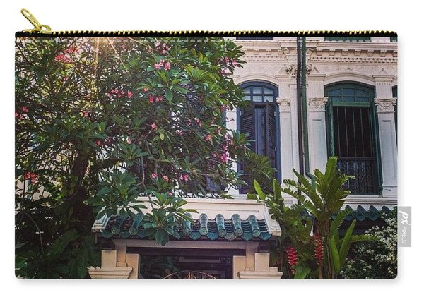 Singapore Traditional Houses Carry-all Pouch