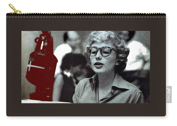 Singer Pianist Blossom Dearie  No Known Date Carry-all Pouch