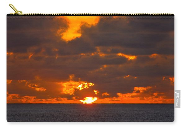Sinking In The Sea Carry-all Pouch