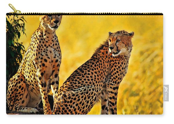 Sister Cheetahs Carry-all Pouch