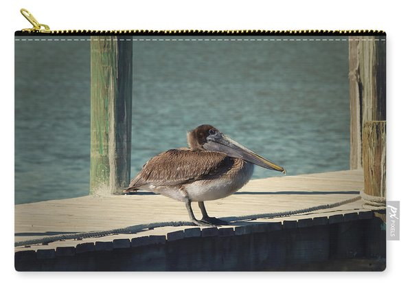 Sitting On The Dock Of The Bay Carry-all Pouch