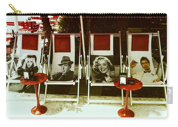 Sitting With Movie Stars Carry-all Pouch