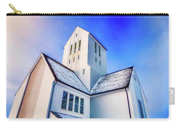 Skalholtskirkja Church, Iceland Carry-all Pouch