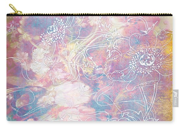 Sketchflowers - Posy Carry-all Pouch