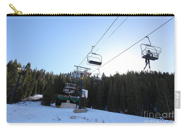 Ski Lifts At Squaw Valley Usa 5d27612 Carry-all Pouch