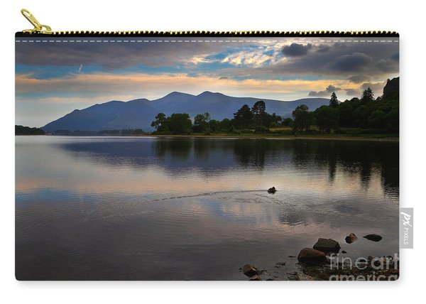 Skiddaw And Derwent Water At Dawn Carry-all Pouch