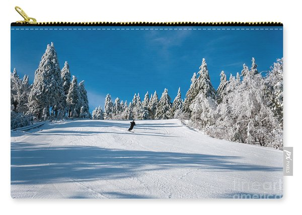 Skiers Paradise Carry-all Pouch
