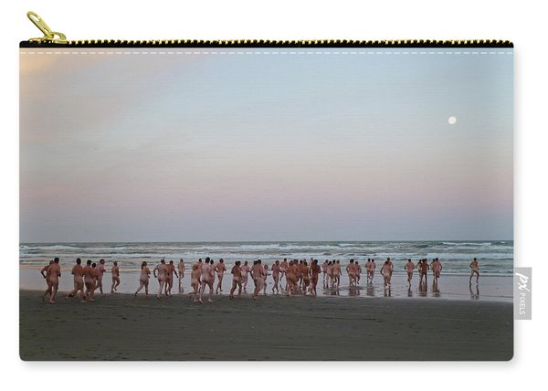 Skinny Dipping Down A Moon Beam Carry-all Pouch