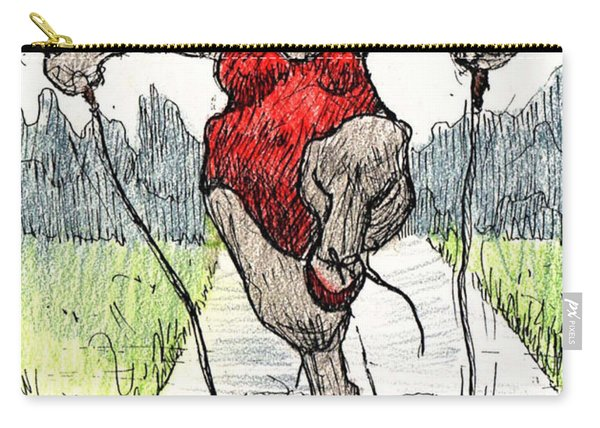 Skipping Rope Carry-all Pouch