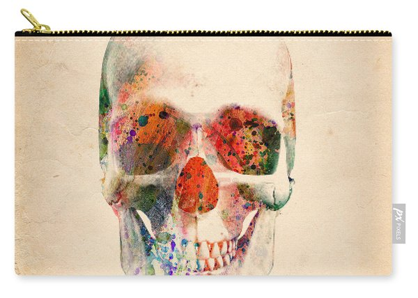 Skull 12 Carry-all Pouch