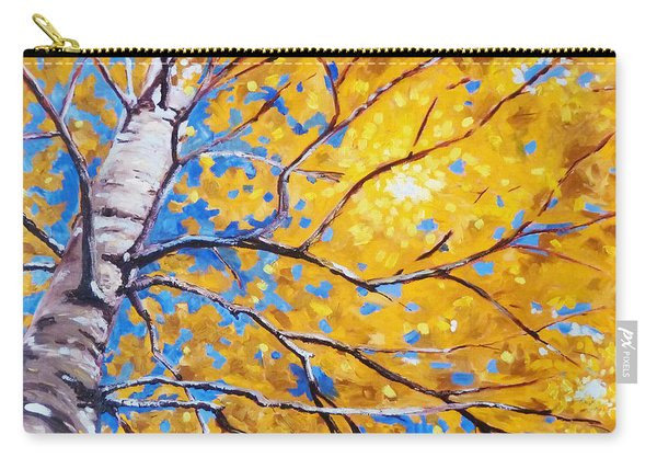 Sky Birch Carry-all Pouch