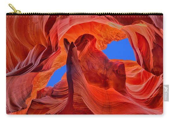 Sky Eyes In Antelope Canyon Carry-all Pouch