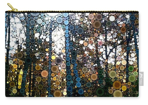 Skyway Forest At Dawn Carry-all Pouch