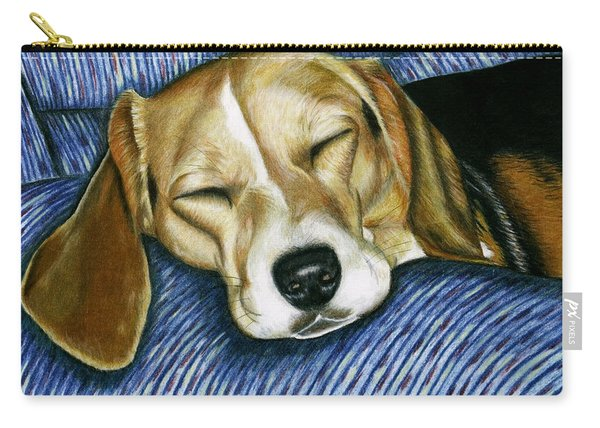 Sleeping Beagle Carry-all Pouch