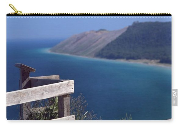 Sleeping Bear Dunes Boardwalk Carry-all Pouch
