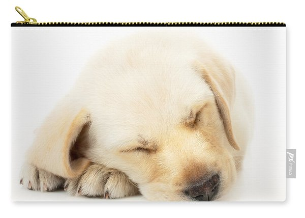 Sleeping Labrador Puppy Carry-all Pouch