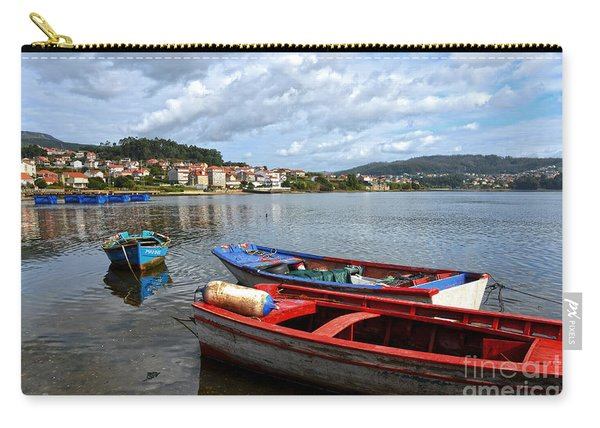 Small Boats In Galicia Carry-all Pouch