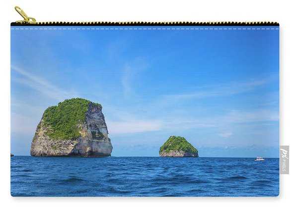 Small Stone Island Near Nusa Penida Carry-all Pouch