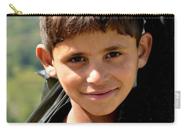 Smiling Boy In The Swat Valley - Pakistan Carry-all Pouch