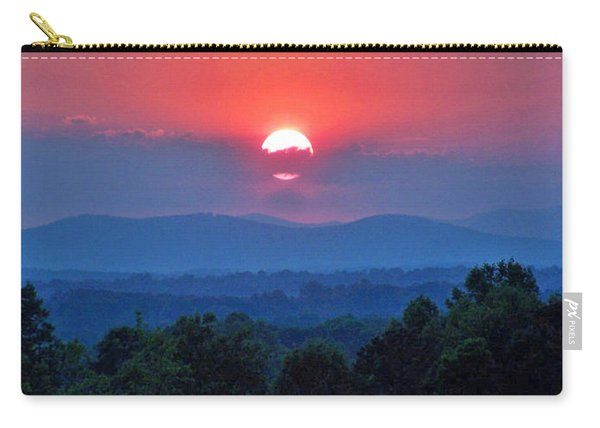 Smokey Mtn Sunset Carry-all Pouch