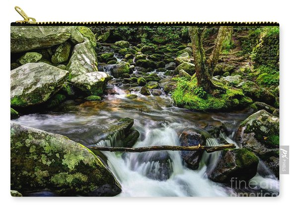 Smoky Mountain Stream 4 Carry-all Pouch