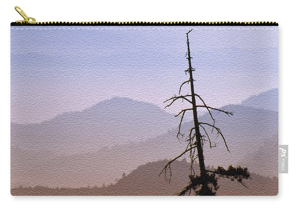 Snag On The Hill Carry-all Pouch