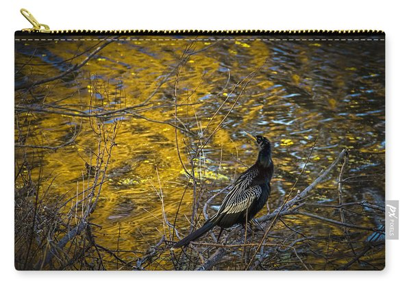 Snake Bird Carry-all Pouch