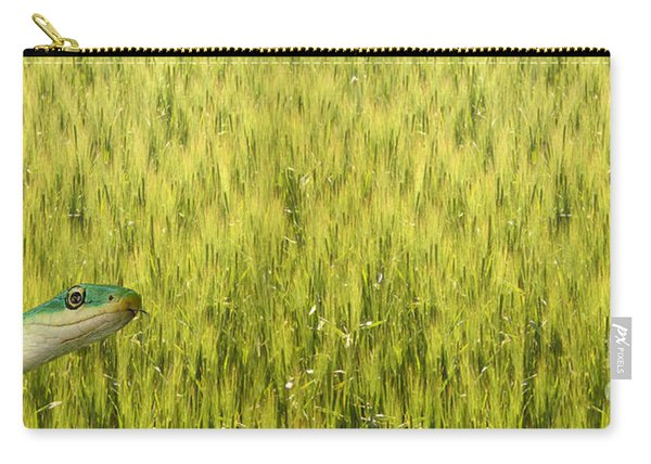Snake In The Grass Carry-all Pouch