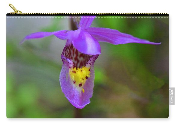 Carry-all Pouch featuring the digital art Snapdragon by Mae Wertz