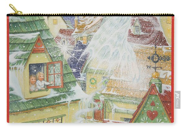 Snow Fairy Carry-all Pouch