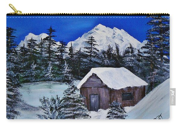 Snow Falling On Cedars Carry-all Pouch