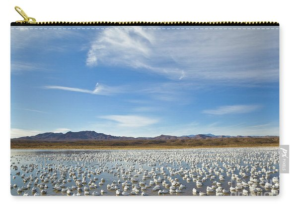 Snow Geese Bosque Del Apache  Carry-all Pouch